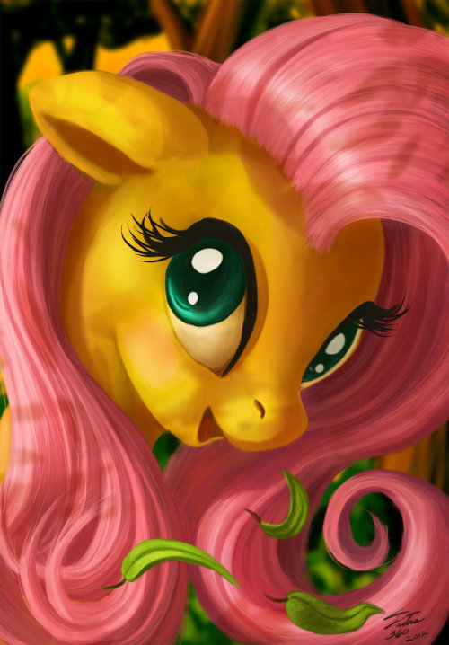 madame-fluttershy:  Flutter of Kindness by =Tsitra360
