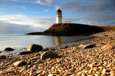 Arnish Point Lighthouse, Stornoway, Isle of Lewis by iancowe on Flickr.