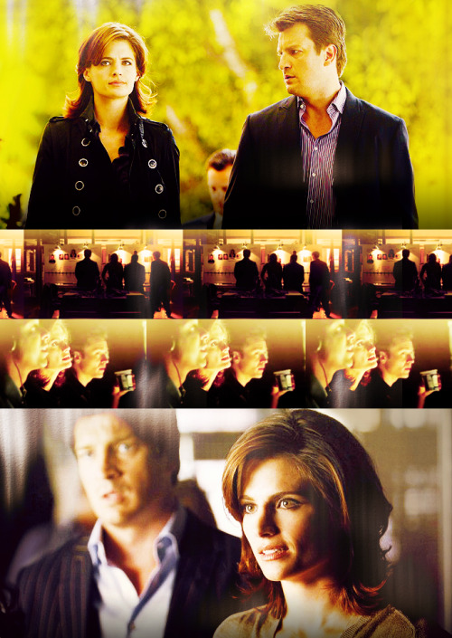 Castle: We make a pretty good team, you know.