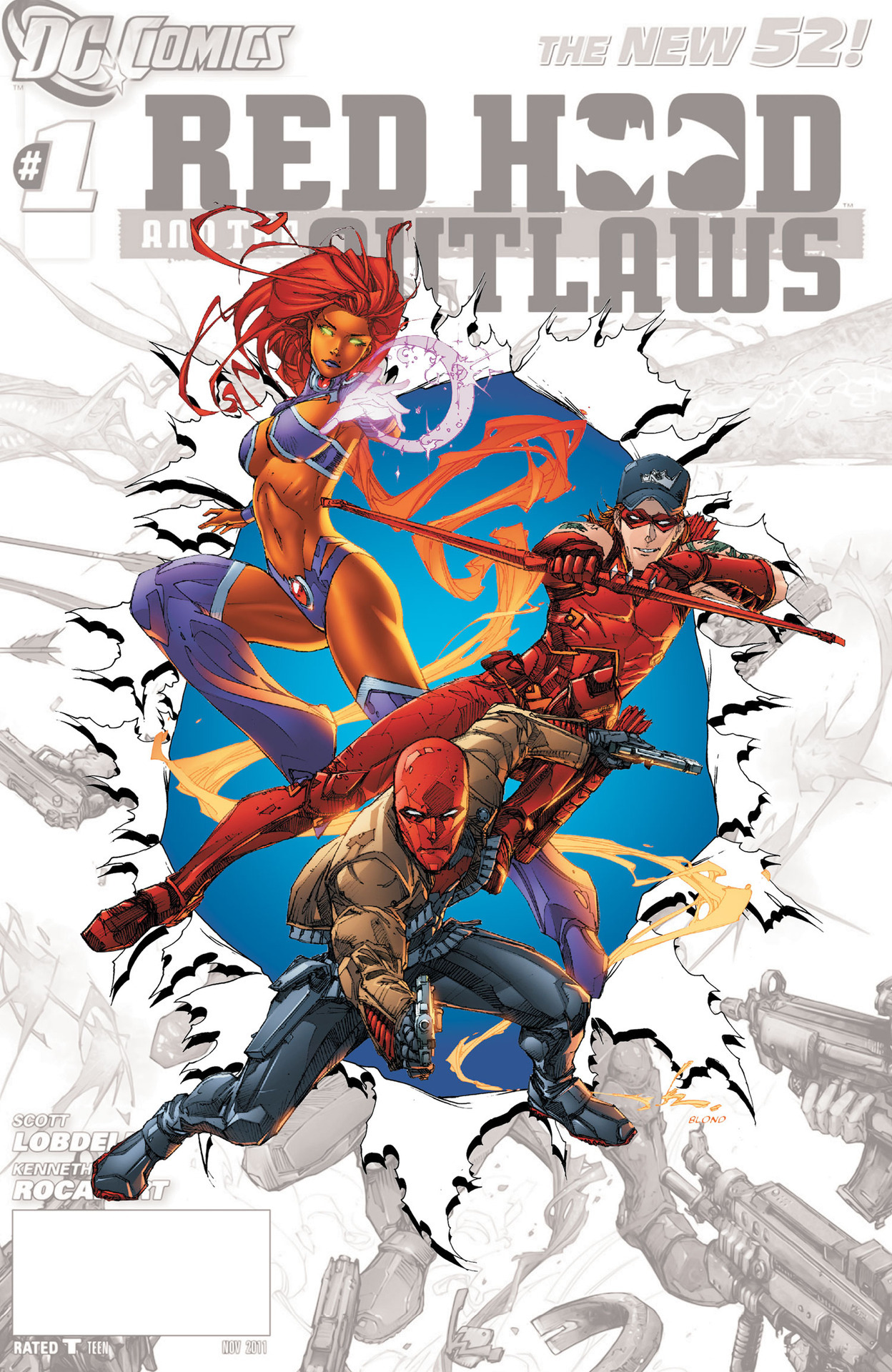 """Red Hood and the Outlaws #0"" 