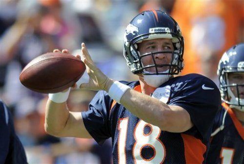 """Manning signs every day after practice at Broncos headquarters, even if it's not the quarterbacks' day to sign. He never misses."" read the rest of Rick Reilly's story about Peyton's transition to Denver & #18's love for the game here."