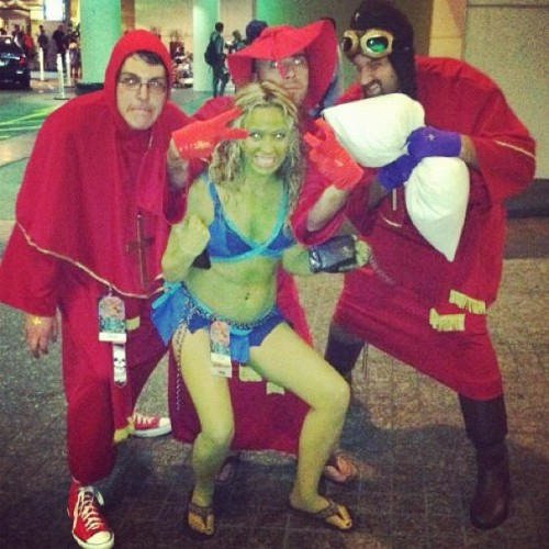 themerrypranxter:  NOBODY EXPECTS THE SPANISH INQUISITION! #dragoncon (Taken with Instagram)