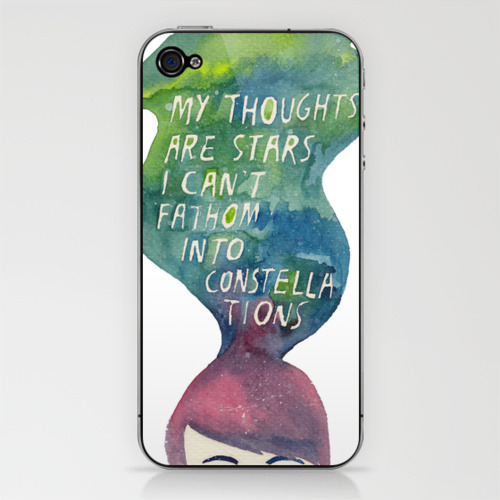 Now you can get rocketrictic's Augustus Waters painting as an iPod or iPhone skin.