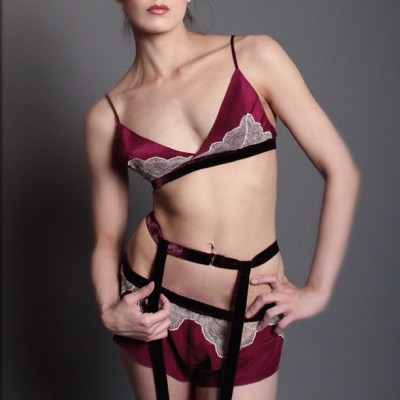 btslingerie:  And boy are buyers going gaga for garnet from @lingerielayla #llforbts (Taken with Instagram)