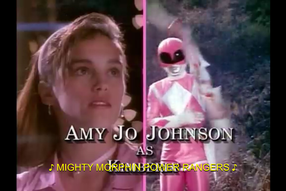 Idk why but the pink Ranger has always been my favorite. I really don't know why.