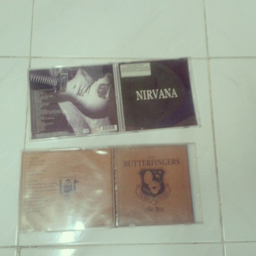 Nirvana and Butterfingers :) i have both :)