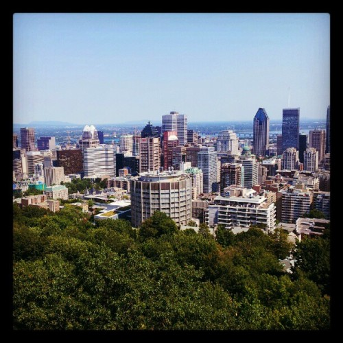 A la prochain Montreal!  (Taken with Instagram)