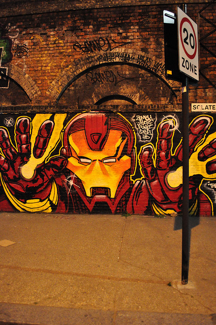 Urban Iron Man by Finbar1980 on Flickr.