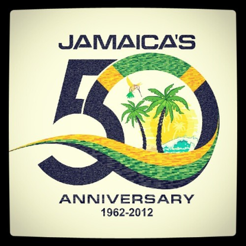 "imtoyoungtoofeelthisold:  Happy 50th Independence Day #Jamaica ""Out of Many, One People"" … #WeAreProud #OneLove #ILoveMyCountry (Taken with Instagram)"