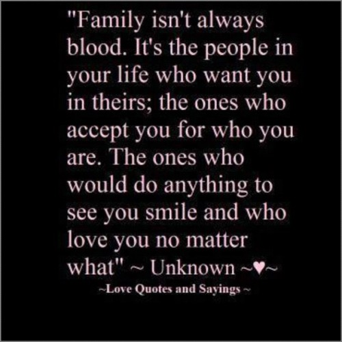 Ain't that the truth #family #friends #life #Family=Friends #igdaily #instafun #Iphone4 (Taken with Instagram)