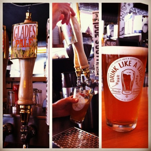 Everglades Pale Ale On Tap #craftbeer @drinklikealocal New Pale Ale from Native Beer Company, come taste it and let us know what you think!