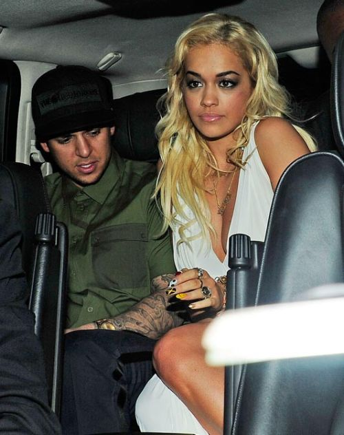 "Rita Ora Speaks About Rob Kardashian When singer Rita Ora was asked about rumored boyfriend Robert Kardashian and their relationship, she responded by saying, ""It's not really a relationship. It's not that intense. He's a cool guy. We're close. We're good friends. I got his back and he's got mine."" Hmm.. I'm not too sure if we believe that Rita, but you cant blame her for wanting to keep her personal life personal, and keeping the focus on her music."