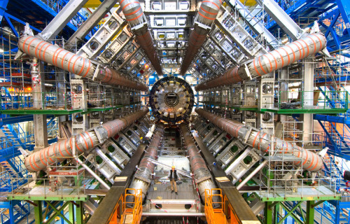 artruby:  Images of the LHC (Large Hadron Collider) in Switzerland.