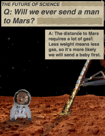 Will We Ever Send A Man To Mars?