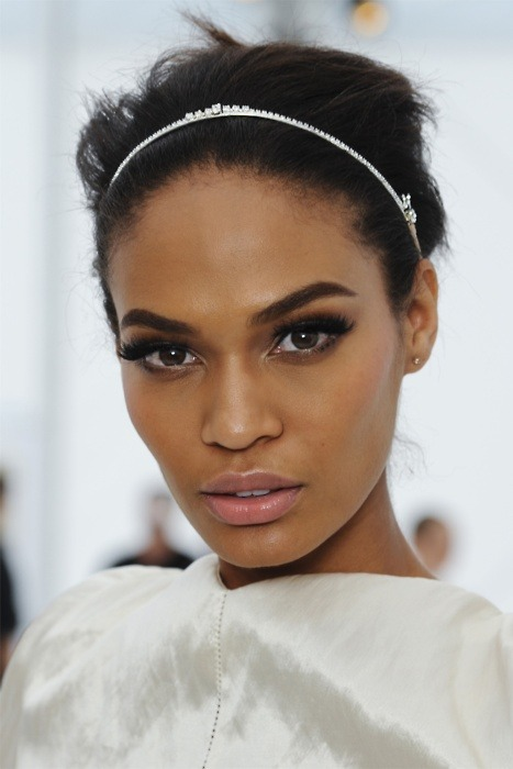models-are-forever:  Joan Smalls backstage @ Louis Vuitton