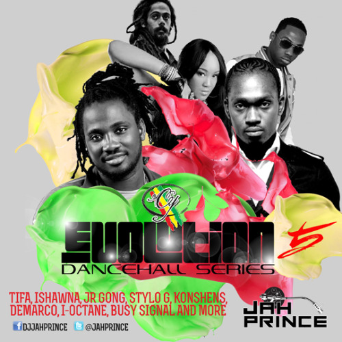 CY Evolution Dancehall Series Mix (5) CD by @JahPrince c/o @CYEvolution aka CY Clothing Inc.  (check JayForce.com for more information this weekend)