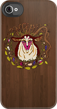 chinesey:  NEW Princess Mononoke iPhone case available HERE! FOR A LIMITED TIME ONLY!