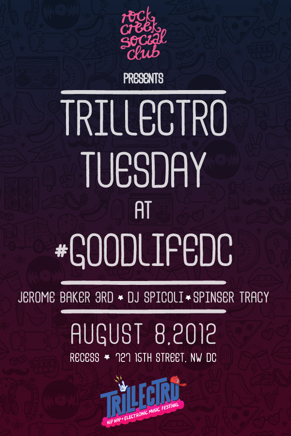 #TrillectroTuesday - tomorrow night at G O O D L I F E - THE BEST PARTY IN DC GETS TURNED UP TO NOTHING BUT ELECTRONIC AND HIP HOP LEVELS AS WE PREPARE YOU FOR #TRILLECTRO THIS WEEKEND!  cc: @trillectro