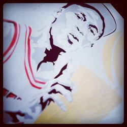 MJ trophy #iwantastencil #airjordan #jordan #bulls #chicago #igsneakercommunity @jumpman23  (Taken with Instagram)