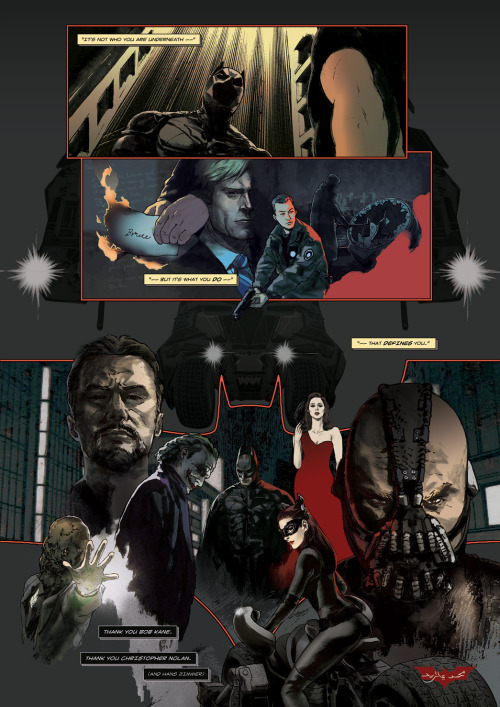 eisuverse:  mohammadyazid:  My love letter to The Dark Knight trilogy.  EVERYONE… GIVE UP DRAWING ALREADY…. THE BEST THING EVER IS ALREADY HERE!!!