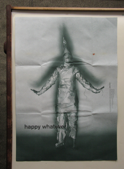 Happy Whatever…Whenever (front). Andrew Ashton (then of Precinct) Pip & Co. 1999.
