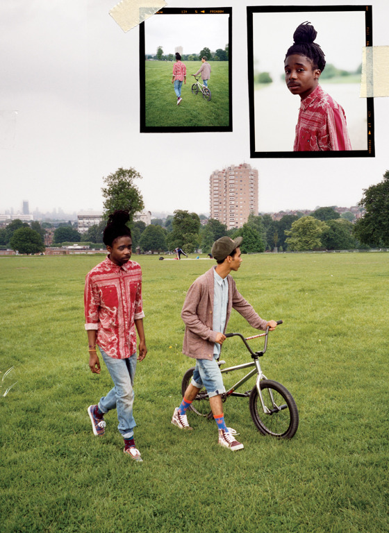 Early Fall 2012 / Photography by Tyrone Lebon