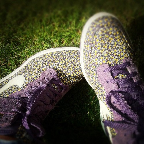 Dunk Sky High Liberty Print Trainers #love #liberty #nike @laurahernando @laurengreta @stacemate @meynellani @snalia  (Taken with Instagram)