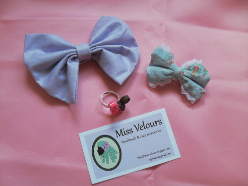 Summer Giveaway!! from handmade brand Miss Velours Shop