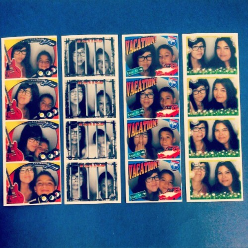 Celebrating Felipe's 11th Birthday with the lads and vee. #photobooth #nephews #sister #family #love #birthday #somuchcuteness #gpoy #diaryofawimpykid (Taken with Instagram at AMC Showplace Galewood 14)