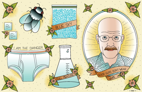 Breaking Bad by Cassie Podish