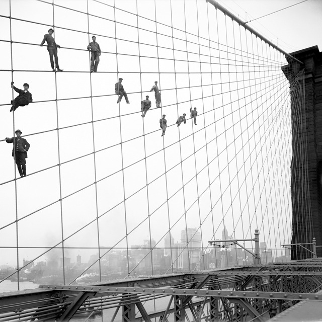 Photographs of New York City from 1906 to 1934. Eugene de Salignac shot over 20,000 stunning glass-plate negatives of New York City. This photograph is from his book of photography New York Rises which is available here.