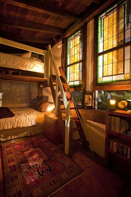 bohemianhomes:  Bohemian Homes: Bunk Beds