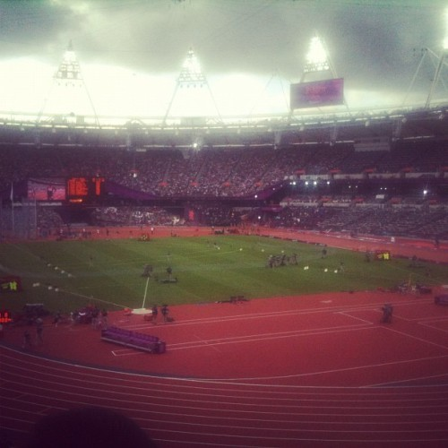 A bit overcast #london2012 (Taken with Instagram)