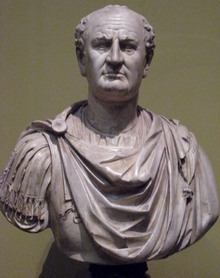 "Although he's not the most attractive Roman emperor, Vespasian is my favorite, and my biggest history crush. He was the ninth emperor of Rome and emerged as a strong leader after the Year of Four Emperors which was basically a power struggle left by the vacuum after Nero was forced to commit suicide. He instituted beneficial financial reforms after Nero's wasteful use of the treasury and the Fire, and is generally considered one of the best Roman emperors. He set up the Flavian dynasty (which ended up only consisting of him and his two sons: Titus and Domitian) and started construction of the Flavian amphitheater, which is now known as the Colosseum. Also, he's the reason public toilets are called 'vespasiani' in Italian, as he instituted a higher tax on the fullers who collected urine from travellers for clothing. He famously remarked, when criticized about the tax, ""pecunia non olet"" or ""money doesn't smell"", which I think is not only clever but entirely hilarious. He's just my favorite person."