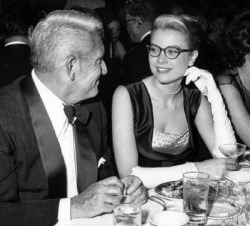 Grace Kelly with Spencer Tracy.