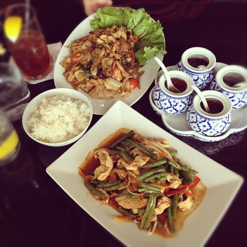 Happy Birthday Ms Miche! #thai #food #lunch #nom #foodie #instagood  (Taken with Instagram)