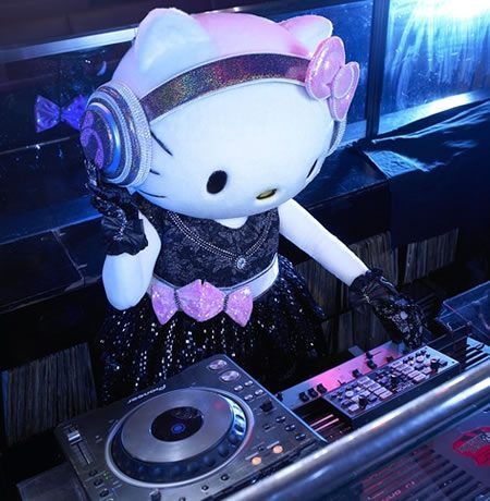 deadmau5 has nothing on this DJ.