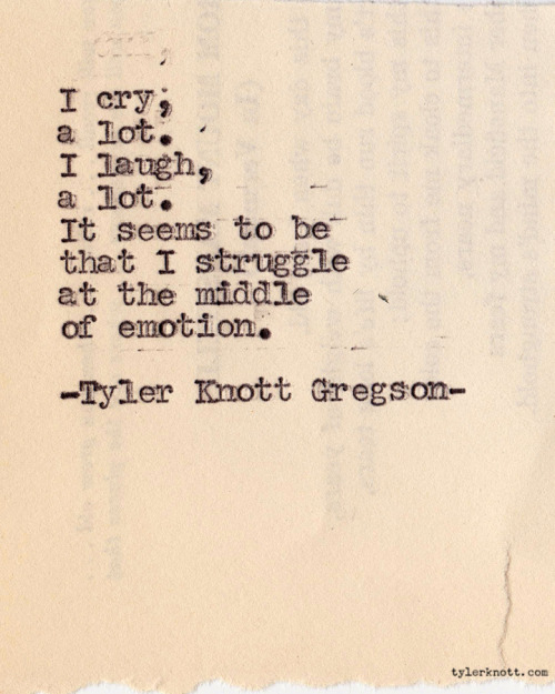 Typewriter Series #135 by Tyler Knott Gregson