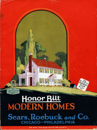 img001 on Flickr. Set of ten, 1928 Sears Houses with original exterior color palette, interior photos, lighting, and hardware. Sears Honor Bilt Modern Homes - 1928 Sears Roebuck and Co. Chicago-Philadelphia Images (Photos+Scans) copyright © Antique Home, 2008-9.  Please contact us if you would like permission to use these images.