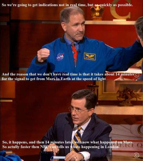 Nasa Should Broadcast The Olympics. via