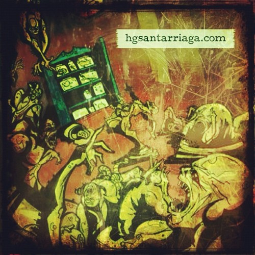 Zombies • Illustration #ilos #illustration #zombie #zombies (Tomada con Instagram)