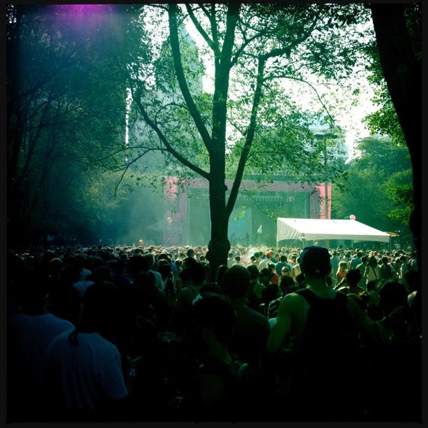 #SBTRKT is somewhere back there! #lolla #lollapalooza #chicago #lolladay1  (Taken with Instagram)