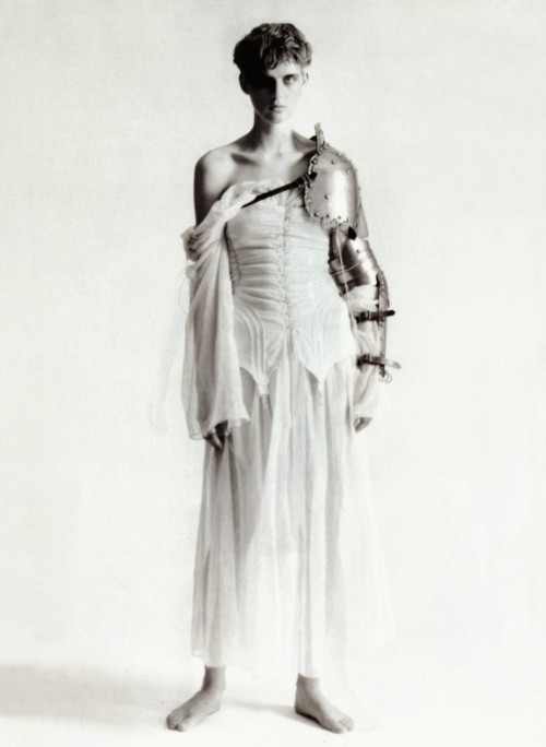 petrole:   une passion pour jeanne d'arc, stella tennant by paolo roversi for vogue paris february 1994