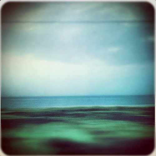 Burn it Blue. (Taken with Instagram at Adriatic sea)