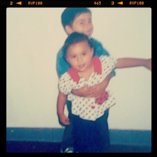 Causee we was cutee , idk what happened  (Taken with Instagram)
