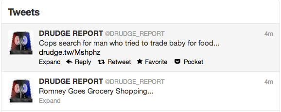 Today in unfortunate tweet juxtaposition:
