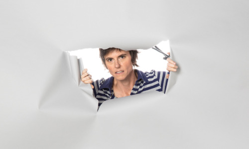 "thedailyfeed:  Tig Notaro strolled into comedy legend on Saturday night, walking on stage at the Largo, a comedy club in L.A., saying, ""Thank you, thank you, I have cancer, thank you, I have cancer, really, thank you.""  And that was just the beginning. As Tig recalled the bizarre, horrible last few months of her life, from a bacterial infection that made her lose 30 pounds to her cancer diagnosis and the death of her young mother, she did it with grace, and humor, and the audience laughed and cried along, at one point literally screaming at her not to stop.  Comedian and writer Kira Hesser wrote a must-read recap, and Louis CK (who was secretly attending the show) called it a ""truly great, masterful"" standup set.  If you like, you can get to know Tig a little better with our profile from a few weeks ago. And, seriously, if you like comedy, read the recap of her Saturday set. We only wish we could have been there. We love you, Tig!  I saw Tig a few years ago, she is amazing."