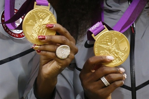 What exactly is an Olympic gold medal made out of? Photo: Dominic Ebenbichler/Reuters