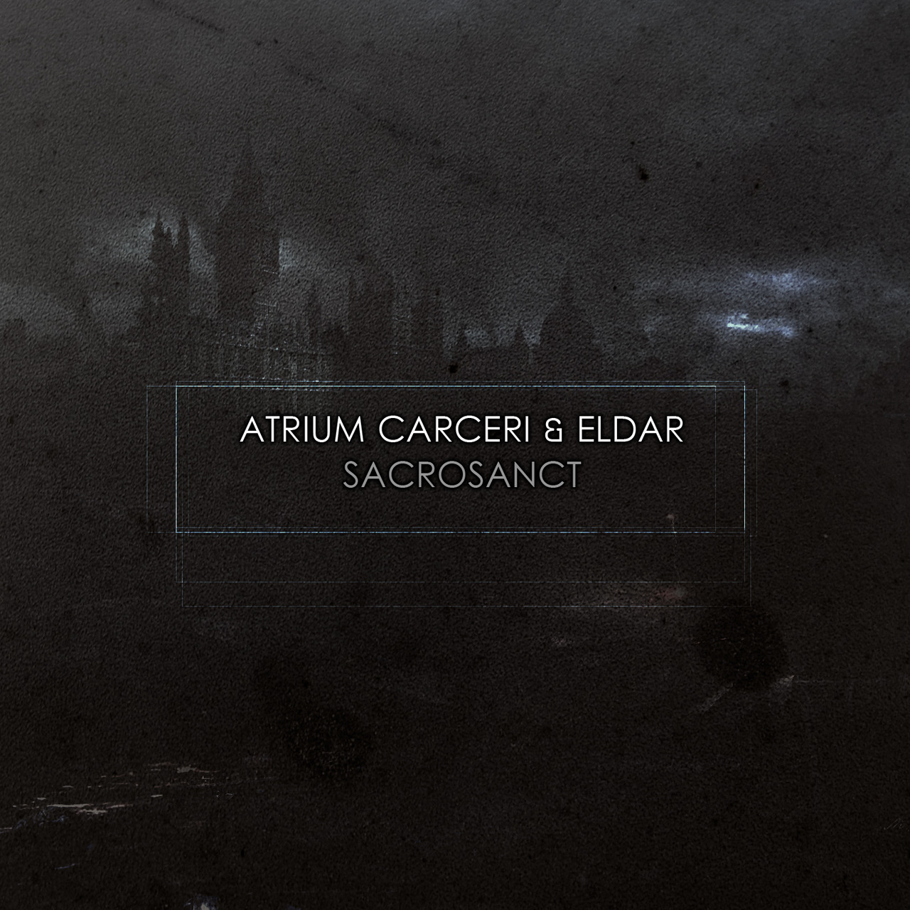 Atrium Carceri & Eldar - Sacrosanct  Atrium Carceri & Eldar, two of the genres most prolific artists, team up for this fantastic dark ambient release. The deep rumblings and future visions of Atrium Carceri combined with the whispers of historical enlightenment that is Eldar creates a vacuum in time where the future and past coexist. Where nothing and everything is sacred, where the webs of powerful bloodlines are woven and where humanity crumbles.  A 9 track masterpiece in 24bit released on Cryo Chamber.  24 bit FLAC available, headphones recommended.  Comes with a 4 page HD booklet  DOWNLOAD - $7 USD   credits releases 07 August 2012 Produced by: Simon Heath, Marc Merinee, Mercé Spica  Mastering: Simon Heath  Artwork: Simon Heath