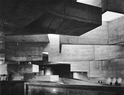 fuckyeahbrutalism:  University Arts Center, University of California, Berkeley, 1965-70 (Mario J. Ciampi, Paul W. Reiter, Richard L. Jorasch, Ronald E. Wagner)  I miss being there. Good times.